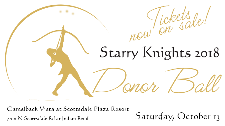 Tickets now on sale - Starry Knights 2018
