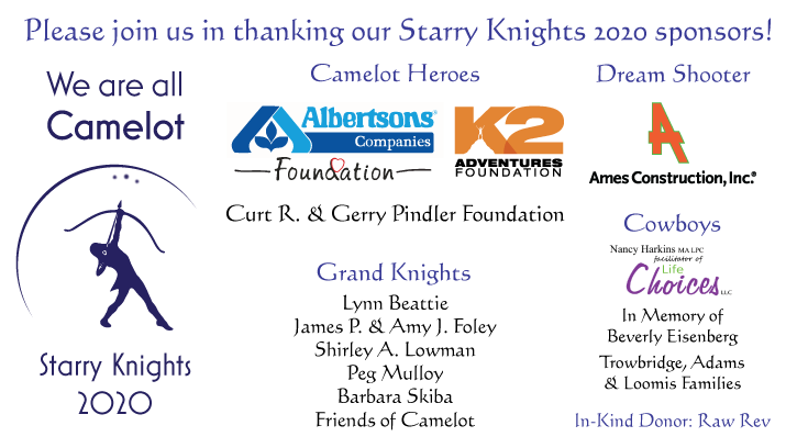 Please join us in thanking our sponsors - click to go to mobile bidding site